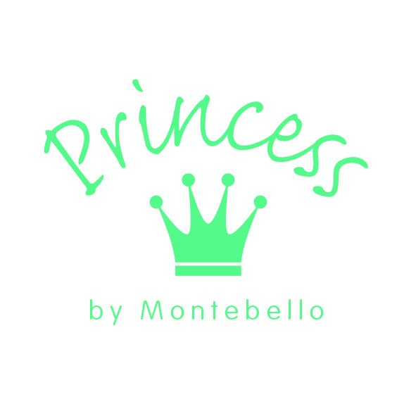 Princess by Montebello ketting Princess - Meisjes - Zilver - Zirkonia - Hart - 38 cm-8432