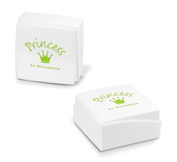 Princes Ketting Bateng - Meisjes - 925 Zilver - Epoxy - Zirkonia - Cupcake - 10 x 12 mm - 38 cm-9850