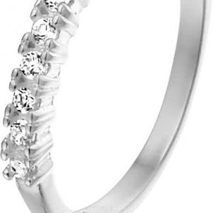 Naninda, zilverkleurige edelstalen ring - Montebello juwelen-0