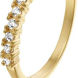 Montebello Ring Nigritella - Dames - 316L Staal - Zirkonia-0