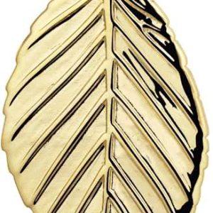 Montebello Ketting Nadia - Dames - 925 Zilver Verguld - Blad - 15 x 30 mm - 45 cm-0