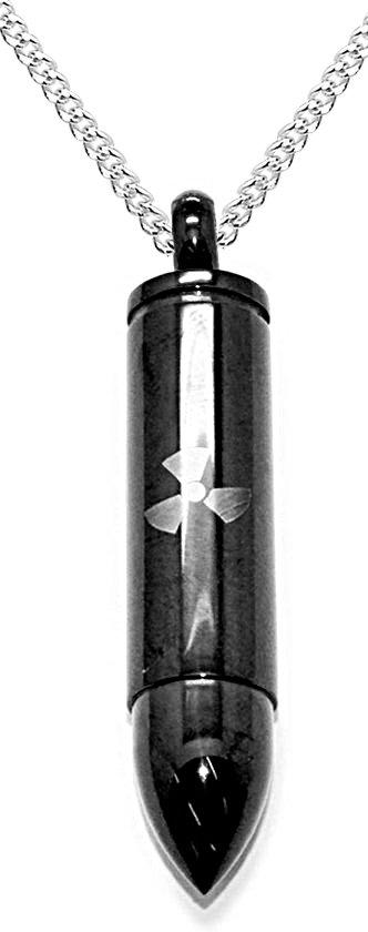Montebello Ketting Kogel Z - 316L Staal - 10x43mm - 60cm-0