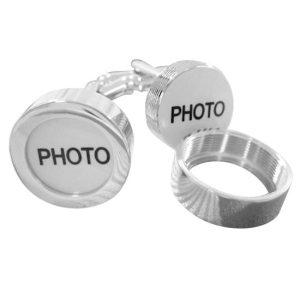 Montebello Manchetknopen Foto - Heren - Metaal - 17 mm-0