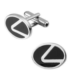 Montebello Manchetknopen Lexus - Heren - Metaal - Autologo - 20x15mm-0