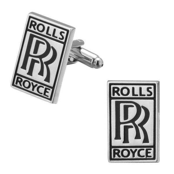 Montebello Manchetknopen Rolls Royce - Heren - Metaal - Auto - 18 x 20 mm-0