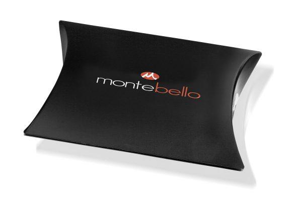 Montebello Armband Arban Black - Heren - Leer - Metaal - 22.5 cm-9796