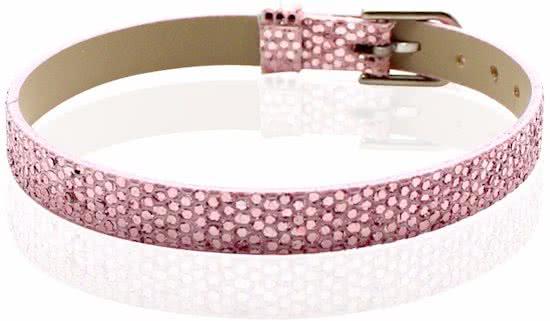 Montebello Armband Akoi Roze - Dames - PU leer - 20.5 cm-0
