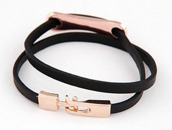 Montebello Armband Keza - Dames - Leer - Messing - 37 cm-25726