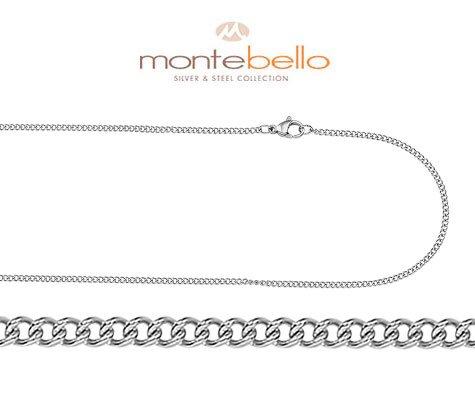 Montebello Ketting Sibari 55 - Heren - Staal - 55 cm-0