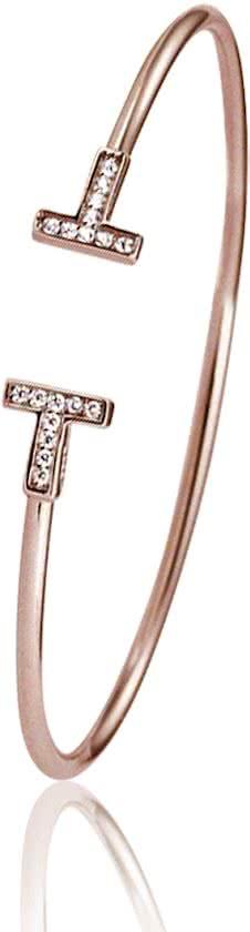 Montebello Armband Weigela - Dames - Staal - Zirkonia - ∅60 mm-10807