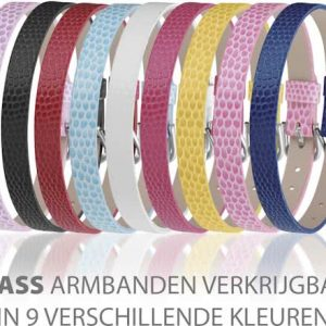 Montebello Armband Anass Zwart - Dames - Leer - Metaal - 20.5 cm-10841