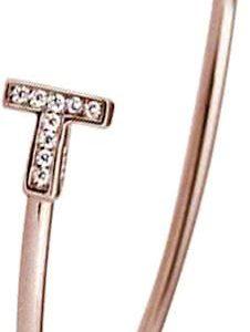 Montebello Armband Weigela - Dames - Staal - Zirkonia - ∅60 mm-0