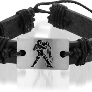 Montebello Armband Waterman - Unisex - Leer - ∅20 - 23 cm-0