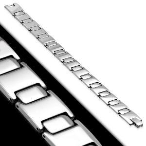 Amanto Armband Adar - Heren - 316L Staal - Gepolierd-0
