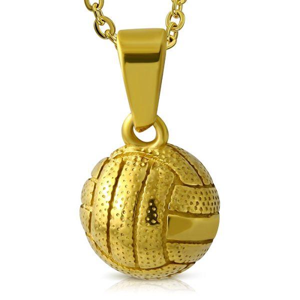 Montebello ketting Aziza Gold - Heren - Voetbal - ∅12 mm - 50 cm-0