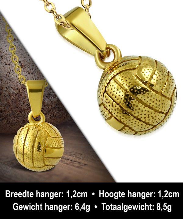 Montebello ketting Aziza Gold - Heren - Voetbal - ∅12 mm - 50 cm-12203