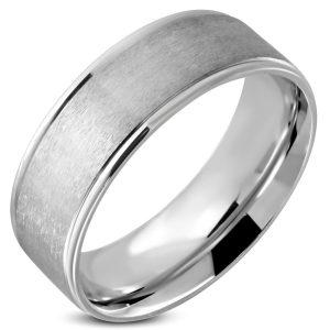 Amanto Ring Akalp - Heren - 316L Staal - 8 mm -0