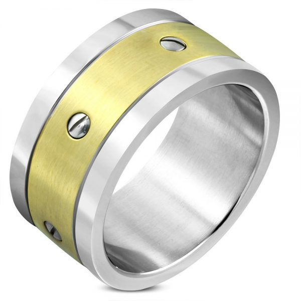 Amanto Ring Akay - Heren - 316L Staal - 11 mm -0