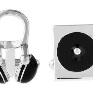 Amanto Manchetknopen Atiq - Heren - 316L Staal - Muziek - ∅17mm-0