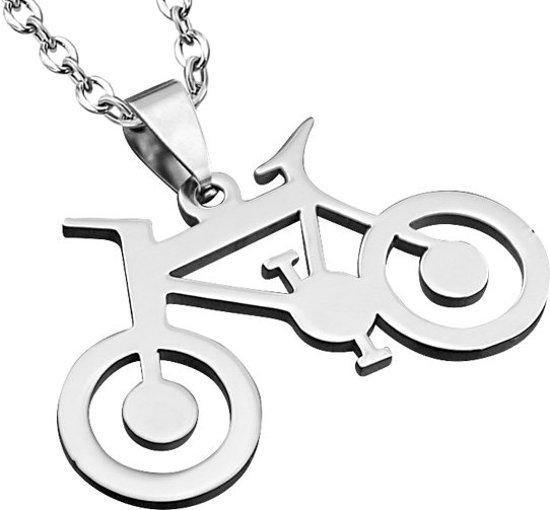 Montebello Ketting Bike Steel - Heren - Staal - Fiets - Sport - 30x37mm - 60cm-0