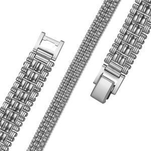 Montebello Armband Bennu - Heren - 316L Staal - 12mm - 21cm-0