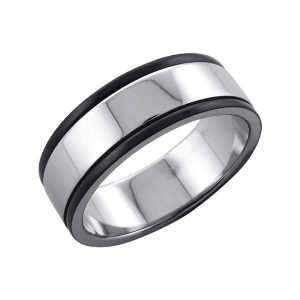 Amanto Ring Ave - Heren - 316L Staal - 8 mm-0