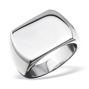 Amanto Ring Avish - Heren - 316L Staal - 16 x 21 mm -0