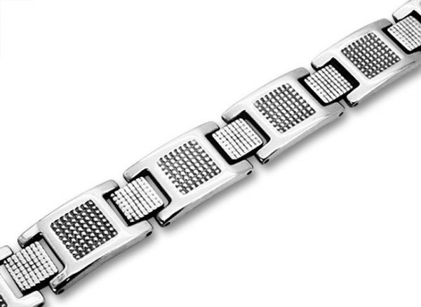 Amanto Armband Banni - Heren - 316L Staal - 12 mm - 21 cm-0