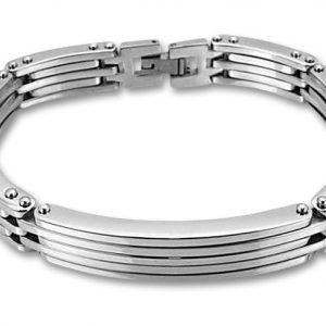 Amanto Armband Bas - Heren - 316L Staal - 11,5 mm - 21 cm-0