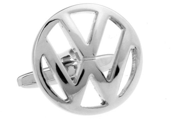 Montebello Manchetknopen Volkswagen - Heren - 316L Staal - Autologo - ∅ 19 mm-13330