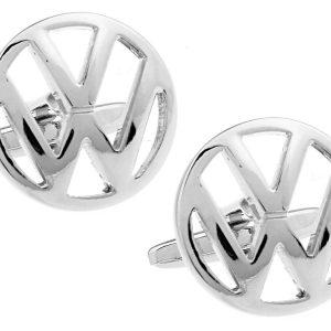 Montebello Manchetknopen Volkswagen - Heren - 316L Staal - Autologo - ∅ 19 mm-0