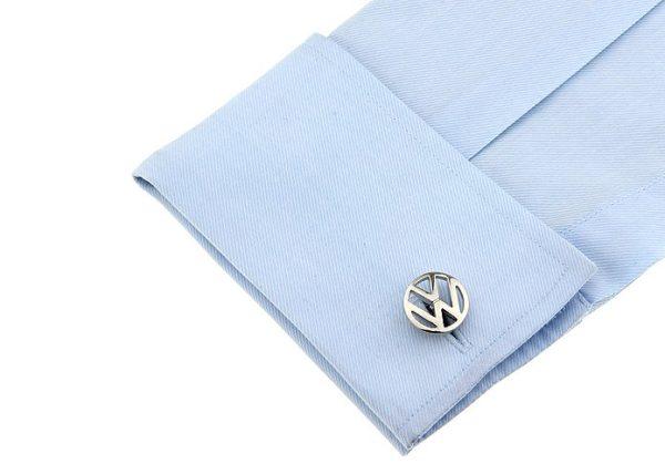 Montebello Manchetknopen Volkswagen - Heren - 316L Staal - Autologo - ∅ 19 mm-13329