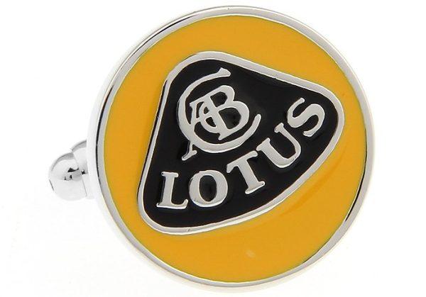 Montebello Manchetknopen Lotus - Heren - 316L Staal - Autologo - ∅ 18 mm-13306