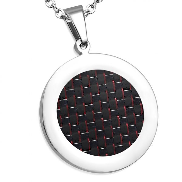 Amanto Ketting Bosse - Dames - 316L Staal - Rond - 35 x 30 mm - 45 cm-0