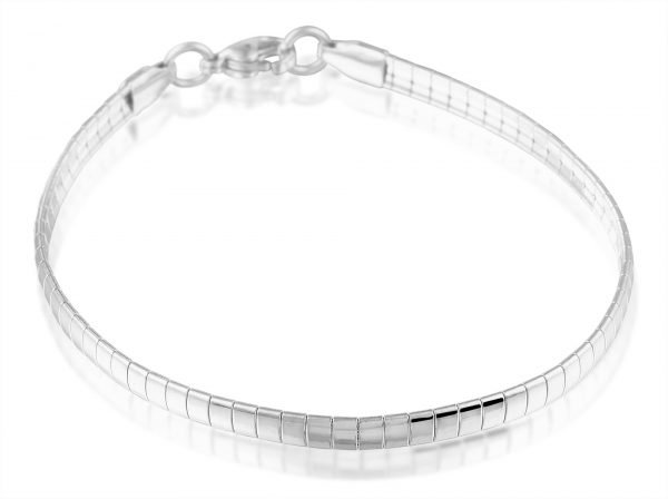 Montebello Armband Blomme A - Dames - 316L Staal - Bangle - 4 mm - 20 cm-0