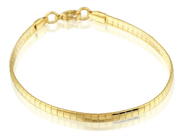 Montebello Armband Blomme G - Dames - Staal PVD - Bangle - 4mm - 20cm-0