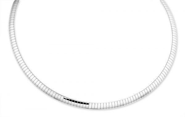 Montebello Ketting Bloome - Dames - Staal - Bangle - 6mm - 50cm-0