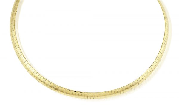 Montebello Ketting Blos - 316L Staal Verguld PVD - Bangle - 6mm - 45cm-0