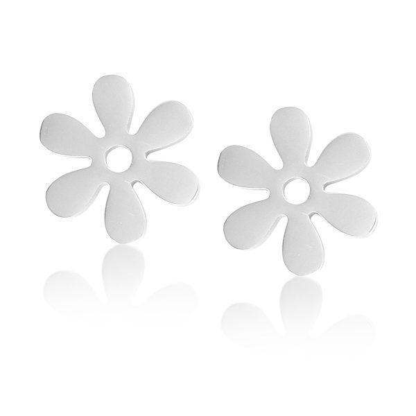 Montebello Oorbellen Blume O - Dames - 316L Staal - Bloem - ∅13 mm-0