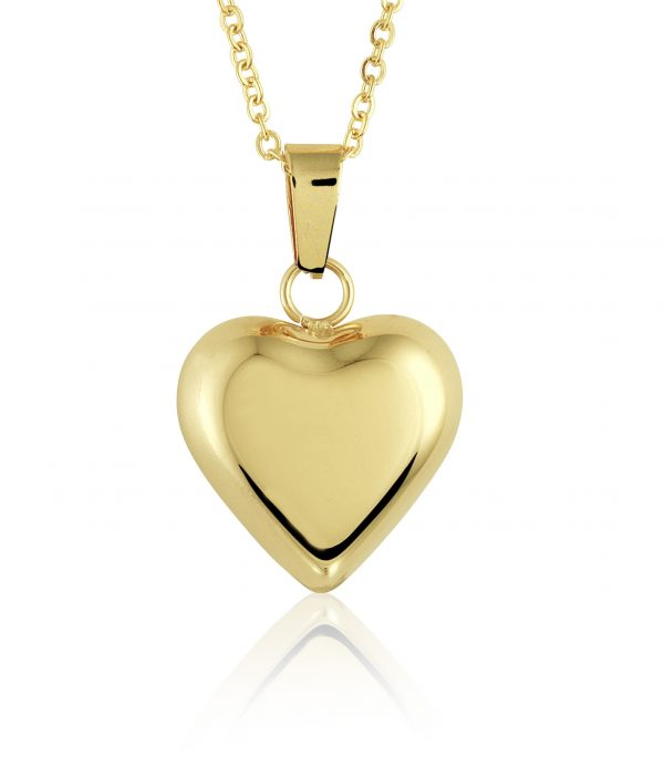 Montebello Ketting Bodina K - Dames - 316L Staal Goud PVD - Hart - 18 x 21 mm - 45 cm-0