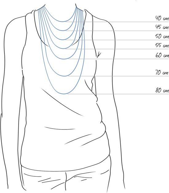 Amanto Ketting Dany - Dames - 316L Staal - Kruis - 30 x 17 mm - 49 cm-16424