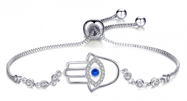 Montebello Armband Caia Fatima - Dames - Messing - Zirkonia -Symbool - Hamsa - Verstelbaar-0