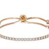 Montebello Armband Caia Gold - Dames - Messing Verguld - Zirkonia - Verstelbaar-0