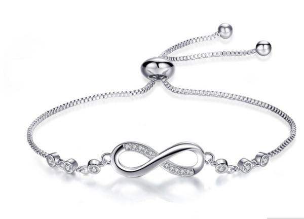 Montebello Armband Caia Infinity - Dames - Messing - Zirkonia -Symbool - Oneindig - Verstelbaar-0