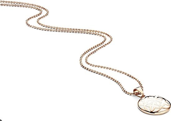 Montebello Ketting Farrago - Dames - Staal Verguld - Emaille - 25mm - 42+3cm-0