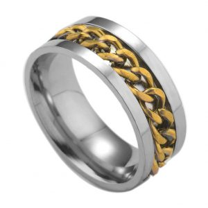 Montebello Ring Arie Gold - Dames - 316L Staal - Kabel - 8 mm -0