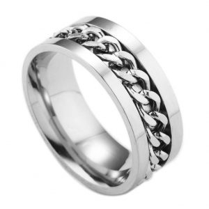Montebello Ring Arie Z - Dames - 316L Staal - Kabel - 8 mm - -0