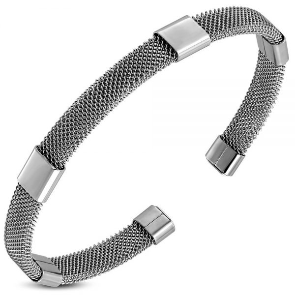 Montebello Armband Juneau A - Dames - 316L Staal - Spang - ∅64 mm-0