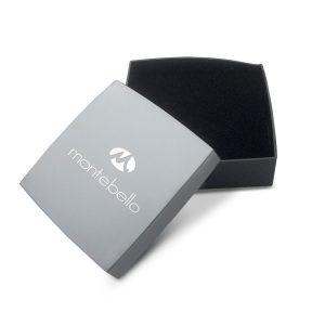 Montebello Oorbellen Capri Small - Dames - 925 Zilver Geoxideerd - Oorring - Bali - 1,2 x 16 mm-17835
