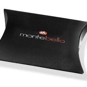 Montebello Armband Skabal Brown G - Unisex - Staal - Leer - Zwart - ∅21 cm-17486